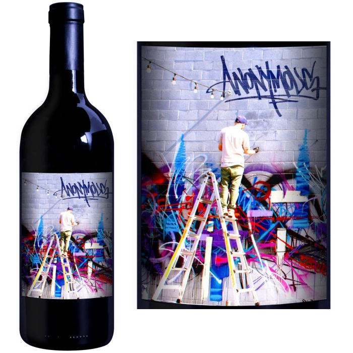 12 Bottle Case 1849 Wine Company Anonymous Napa Premium Red Wine Blend 2015 w Free Shipping