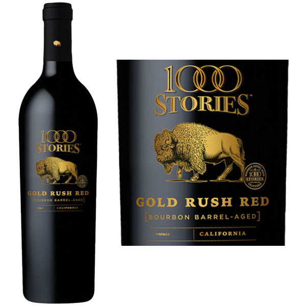 1000 Stories Bourbon Barrel Aged Gold Rush Red Blend 2016