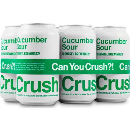 10 Barrel CRUSH Cucumber Sour 12oz 6 Pack Cans