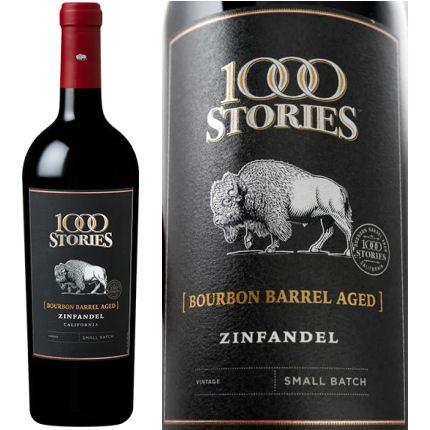 1000 Stories Bourbon Barrel Aged Zinfandel 2015