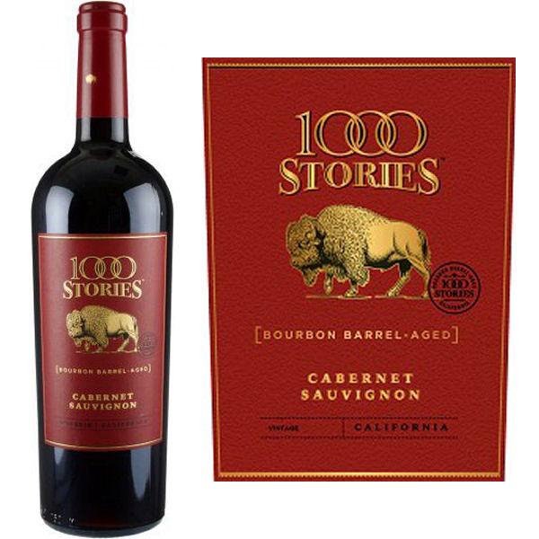 1000 Stories Bourbon Barrel Aged Cabernet 2016